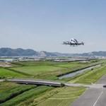 Teljesítette első próbaútját a japánok pilóta nélküli légi taxija