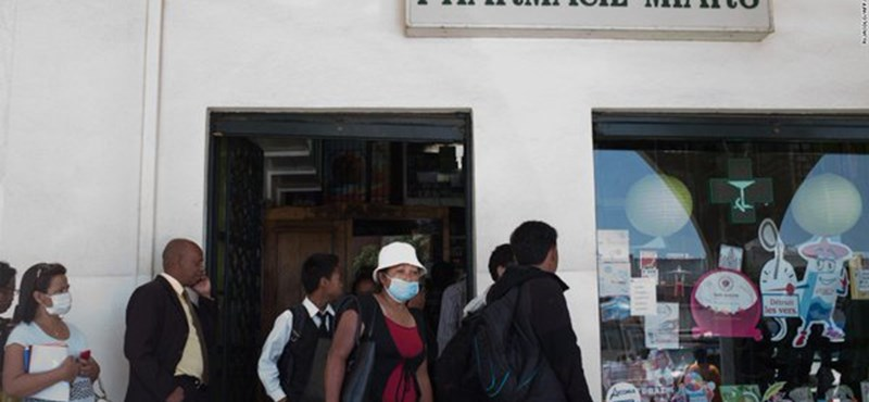 Újra megjelent a rettegett betegség Madagaszkáron, legalább 36 halott van már