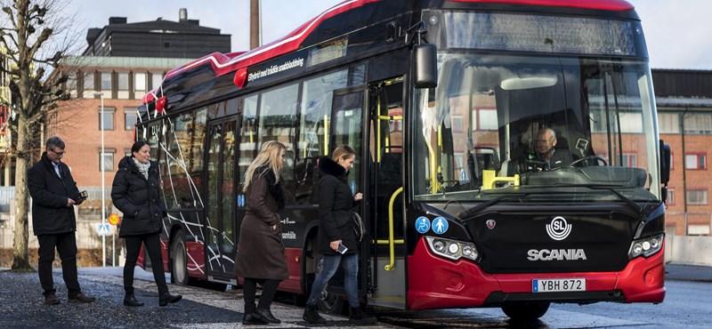 Van, ahol már a városi buszokat vezeték nélkül töltik – videó
