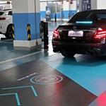 Kínában szintet léptek a sofőr nélküli parkolással – videó