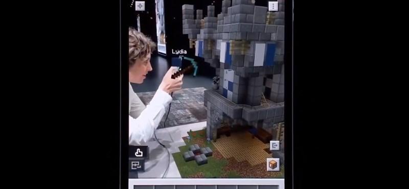 Ez valami döbbenet: megmutatták az első videót az új Minecraftról