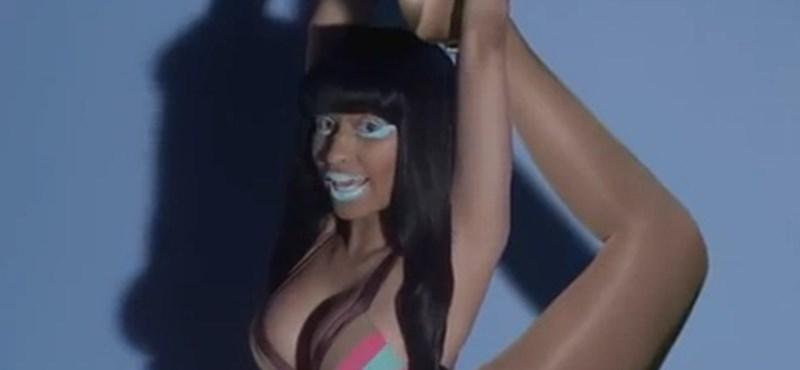 Pszichedelikus kavalkád az új Nicki Minaj videóban (videó)
