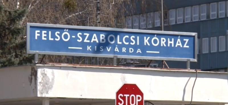 Két koronavírusos beteget kezelnek a kisvárdai kórházban