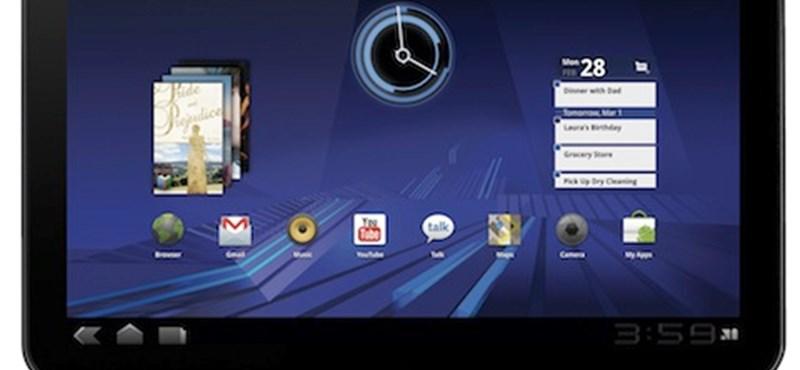 Mától a hazai T-Mobile-nál a Motorola Xoom!