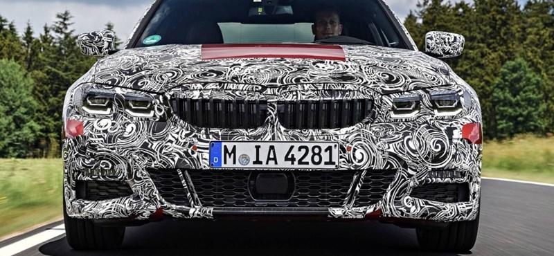 Íme a teljesen új 3-as BMW, megjöttek az első gyári fotók