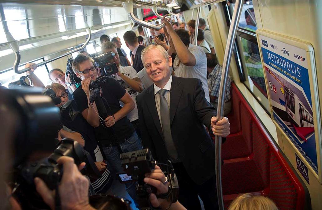 Alstom metro szerevény a 2 metro vonalán, Tarlós István