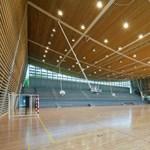 Minden testnevelőtanár álma: zöld sportcsarnok a franciaországi Toursban