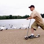A hibás kormány miatt hív vissza rollereket a Decathlon