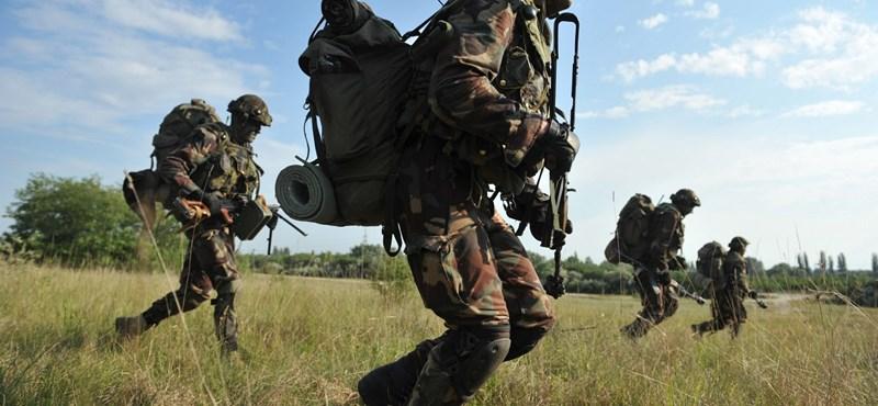 Hirtelen megugorhatott a katonának jelentkezők száma