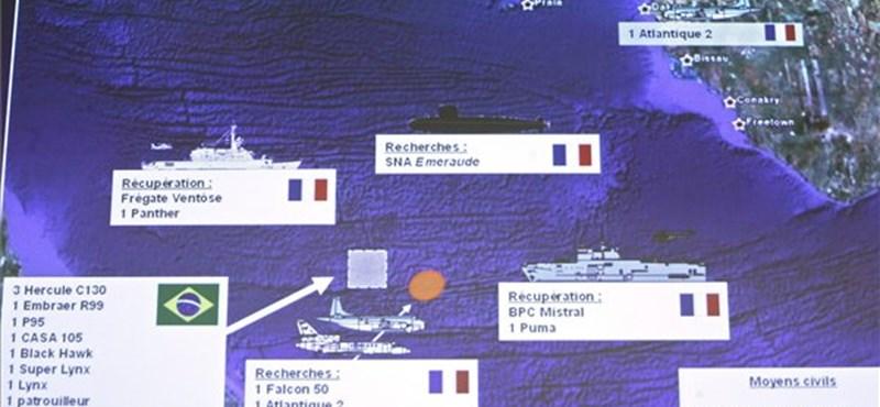 Mégsem a levegőben tört szét az Air France gép