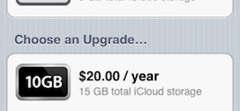 Íme az iCloud árai és videó a működéséről