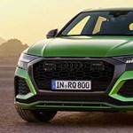 Erőfitogtatás: hazánkban a 600 lóerős Audi RS Q8