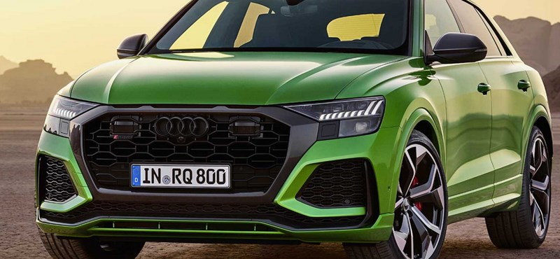 600 lóerős monstrumként debütált az Audi RS Q8