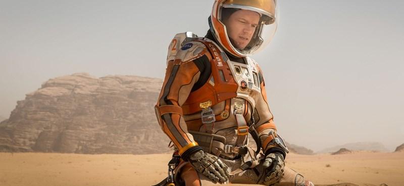 Oxigénre bukkantak a Mars légkörében