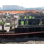 Képek: így áll ma Magyarország legnagyobb ipari beruházása