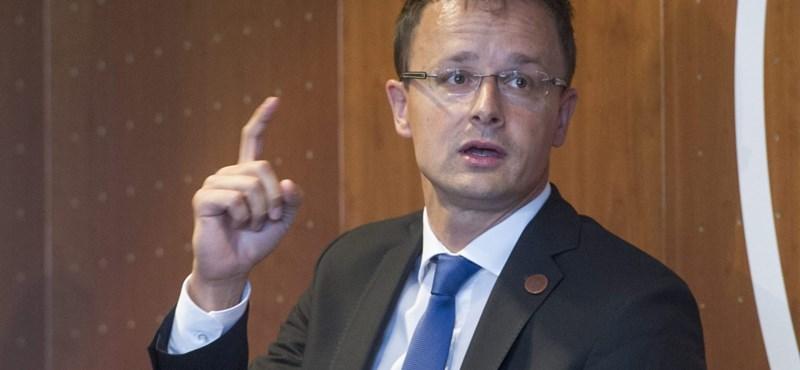 Szijjártó: Jobb ötlete van a magyar kormánynak az EU-s menekültkvótánál