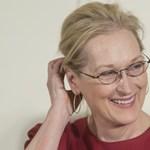 Meryl Streep közlemény helyett egy gifet adott ki Oscar-reakcióként