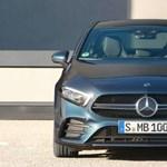 Hivatalos: itt a 306 lóerős Mercedes-AMG A35 szedán