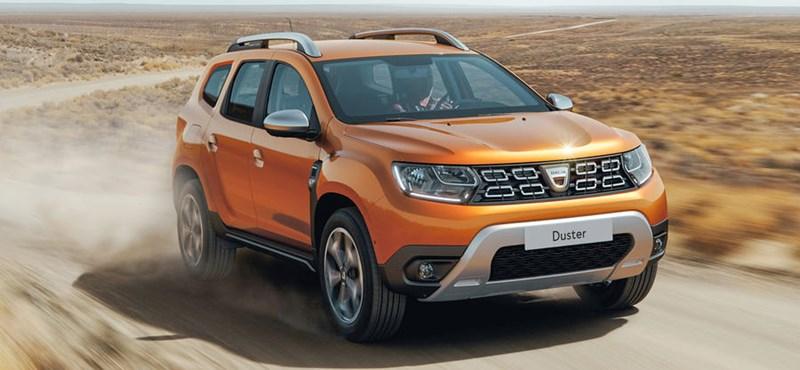 Ilyen lett az új Dacia Duster – képek