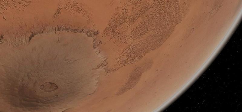 Létezhetett valamikor élet a Marson