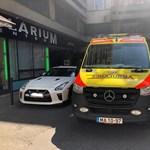 Happy end lett a mentők kontra szabálytalan parkoló történet vége