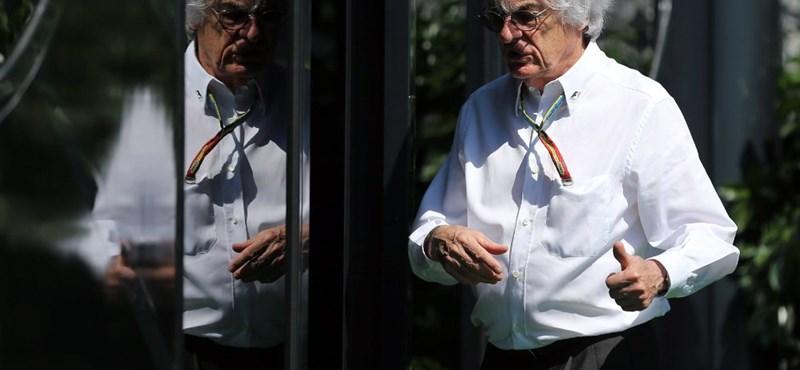 Bernie Ecclestone nagyon lehúzta a Forma–1-et