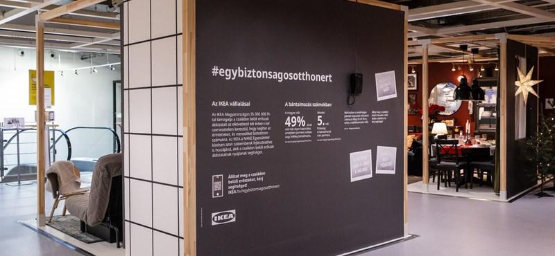 A családon belüli erőszak ellen indított kampányt az IKEA