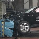 Eminens a törésteszten: szuperbiztonságos a Győrben gyártott új Audi Q3 - videó