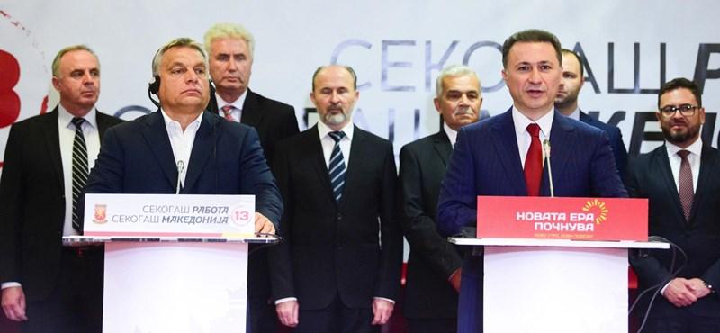 Macedóniába is betette a lábát a Fidesz-média, és Gruevszkit tolja