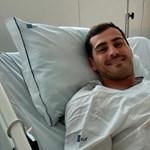 Kórházi ágyáról üzent Iker Casillas