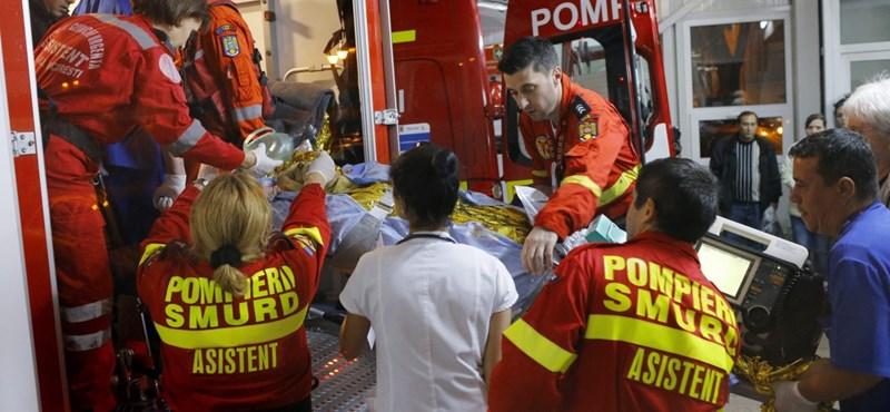 Rossz hírek jönnek a bukaresti tűzvészről