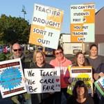 Ötvenezer tanár tüntetett Új-Zélandon
