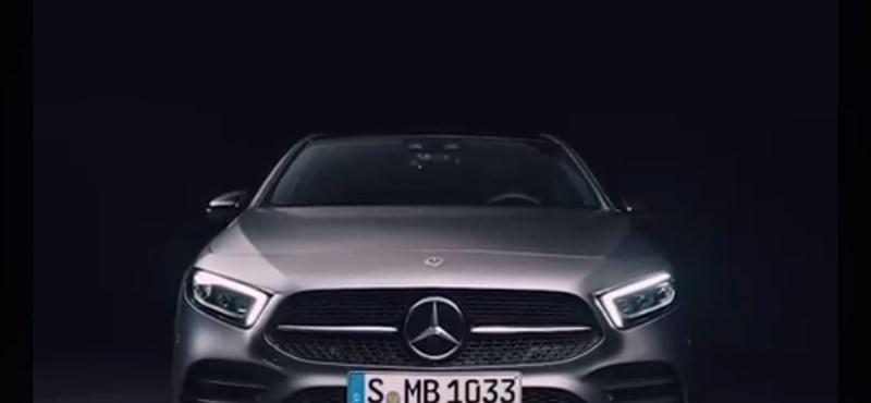 Kecskeméten is gyártani fogják a ma bemutatott új Mercedes A-osztályt