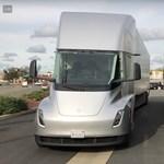 Három új videó készült a Tesla elektromos kamionjáról
