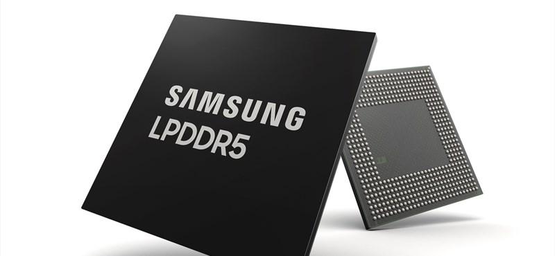 Olyan memóriát mutatott be a Samsung, amelytől gyorsabbak lesznek a telefonok, és tovább is bírják töltés nélkül