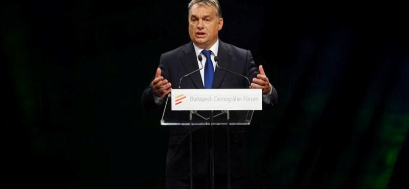 Orbán: Európának a homoszexualitás a kedves téma, nem a demográfia