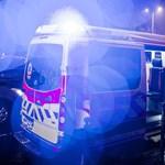 Hét embert vittek kórházba Fótról
