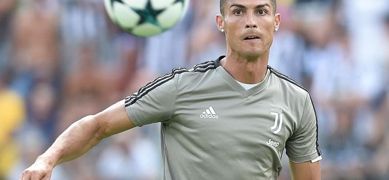 Ronaldo: Sorsszerű volt, hogy a Juventushoz igazoltam