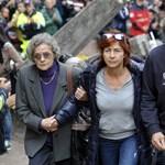 Megrázó képek Simoncelli temetéséről