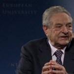 Soros György előadásaival indította el a CEU új előadássorozatát
