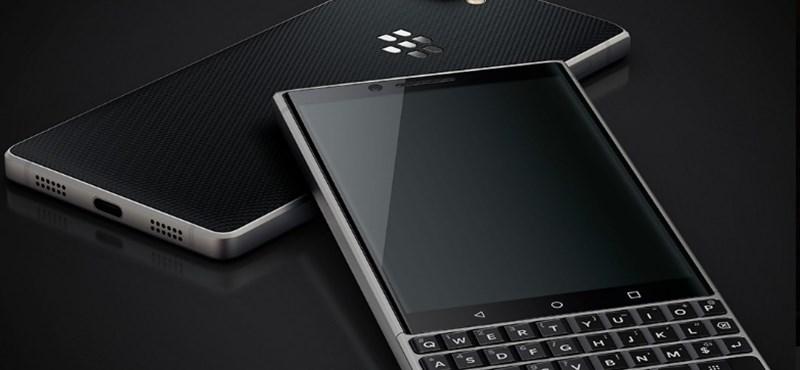 Van, aki az ilyet szereti: fizikai billentyűzetes BlackBerry telefon érkezik