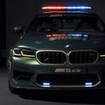 Íme a MotoGP 2021-es szupersportos BMW M biztonsági autói