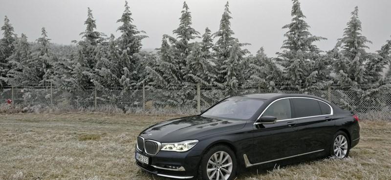 BMW 750Li-teszt: elnöki ügy