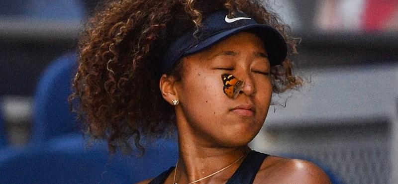 Pillangómentés szakította félbe az Australian Open egyik meccsét