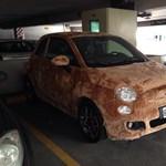 Ez a kiszőrösödött Fiat 500-as olyan, mint egy labrador