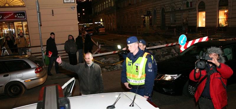 Mintát vettek a rendőrök a 4K! beszívott pártelnökétől