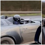 Pont az Autókereskedők műsorvezetője mellet húzott el egy Aston Martin V12 Speedster – videó