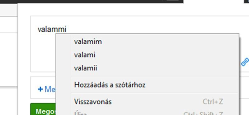 Tipp: helyesírás-ellenőrzés a Chrome-ban