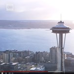 Most már forogni is tud a híres seattle-i üvegkilátó – videó