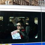 Galéria: így tiltakoztak a röghöz kötés ellen a diákok